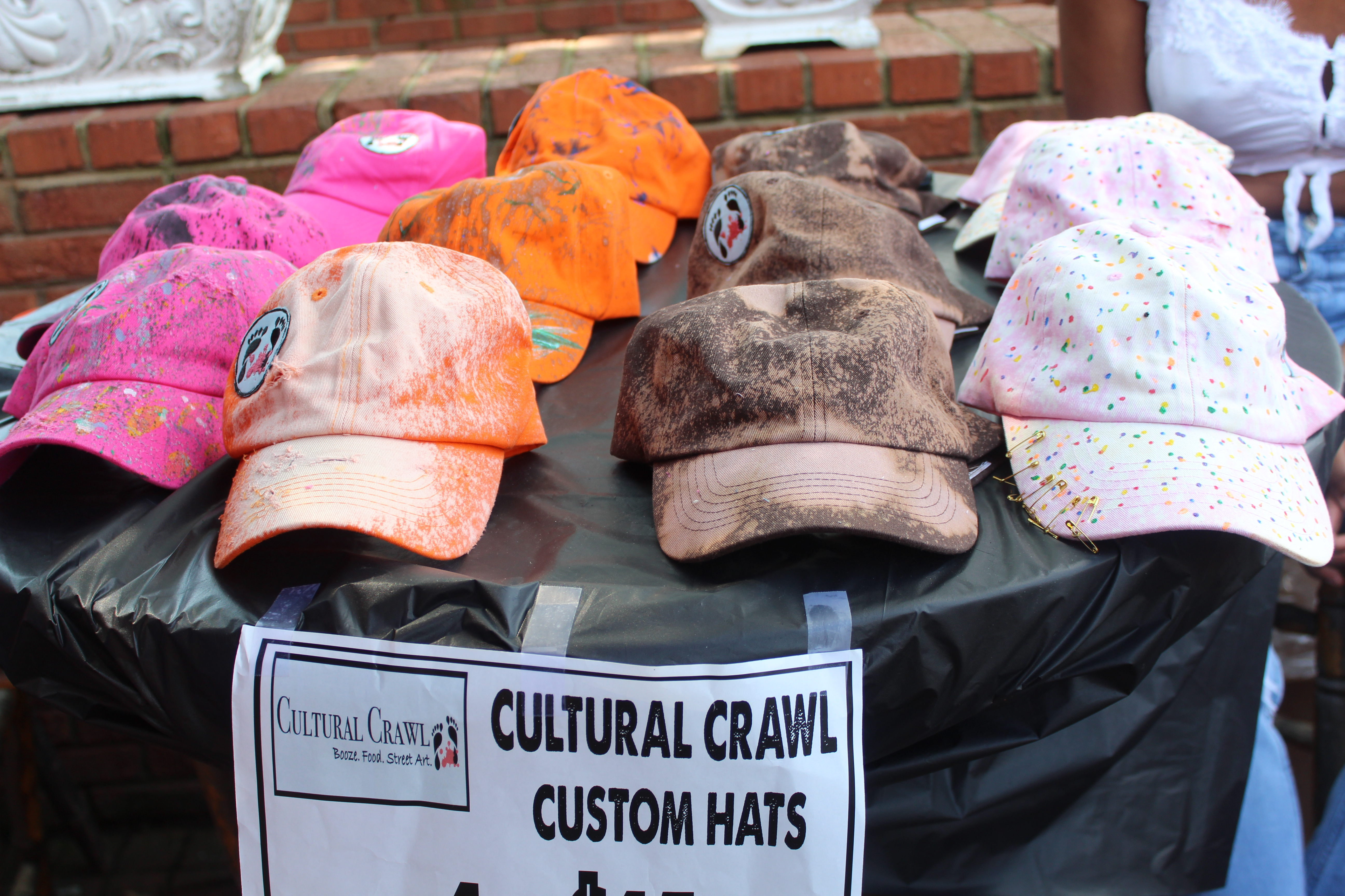 Cultural Crawl Custom Hats